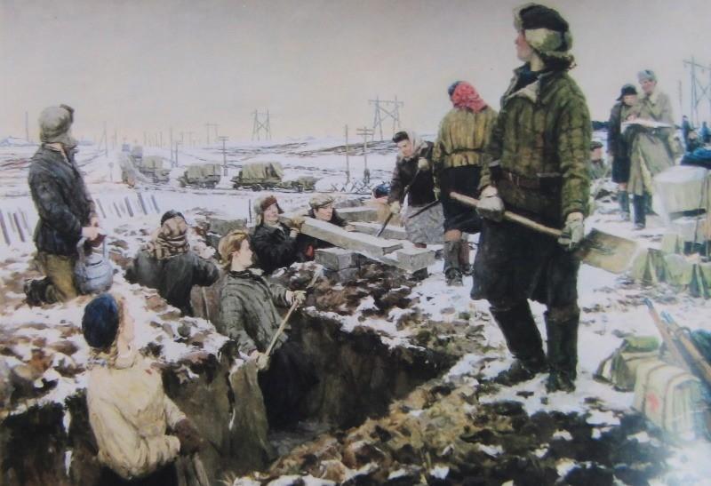 Фронт и тыл Великой Отечественной войны