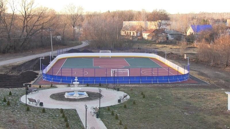 Сценарий открытия спортивной площадки