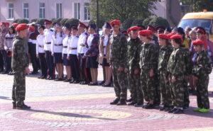 Сценарий военно-патриотического праздника для школьников