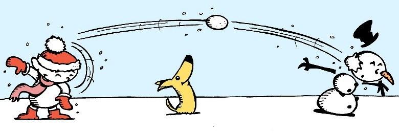 Зимние игры для детей на свежем воздухе