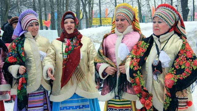 Сценарий народного гулянья на Масленицу на улице села и города