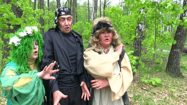 Фольклорный сценарий русского праздника для детей и взрослых