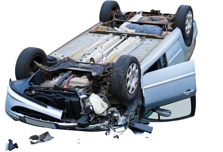 Шуточная сценка «Автомобильная авария»